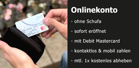 Onlinekonto auf Bezahlen.de