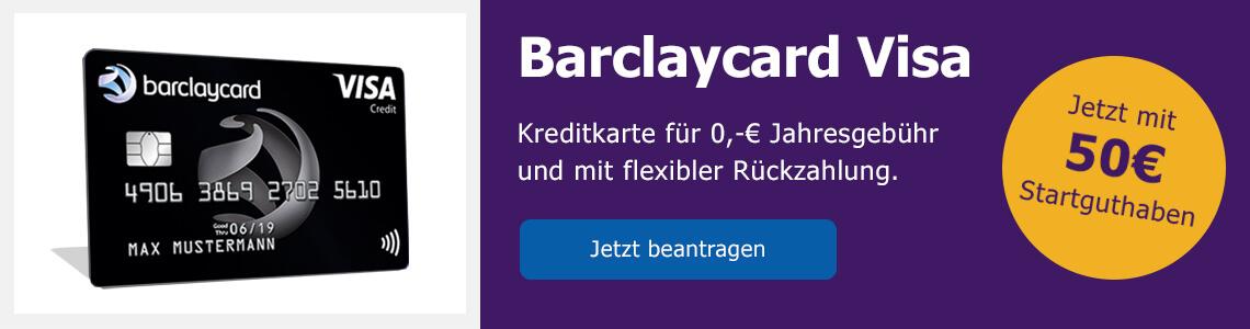 Barclaycard Visa auf Bezahlen.de